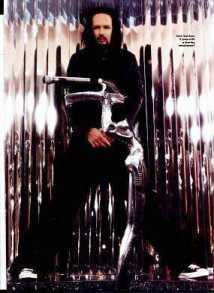 Korn's Jonathan Davis & His Custom Mic Stand